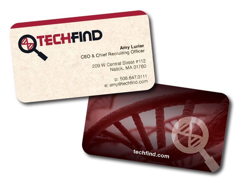 TechFind Business Cards