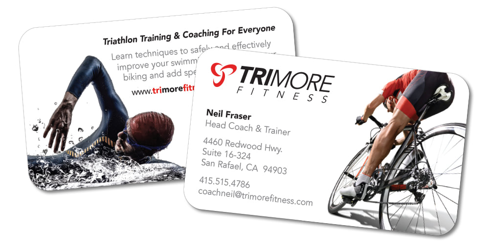 Trimore Fitness Business Cards