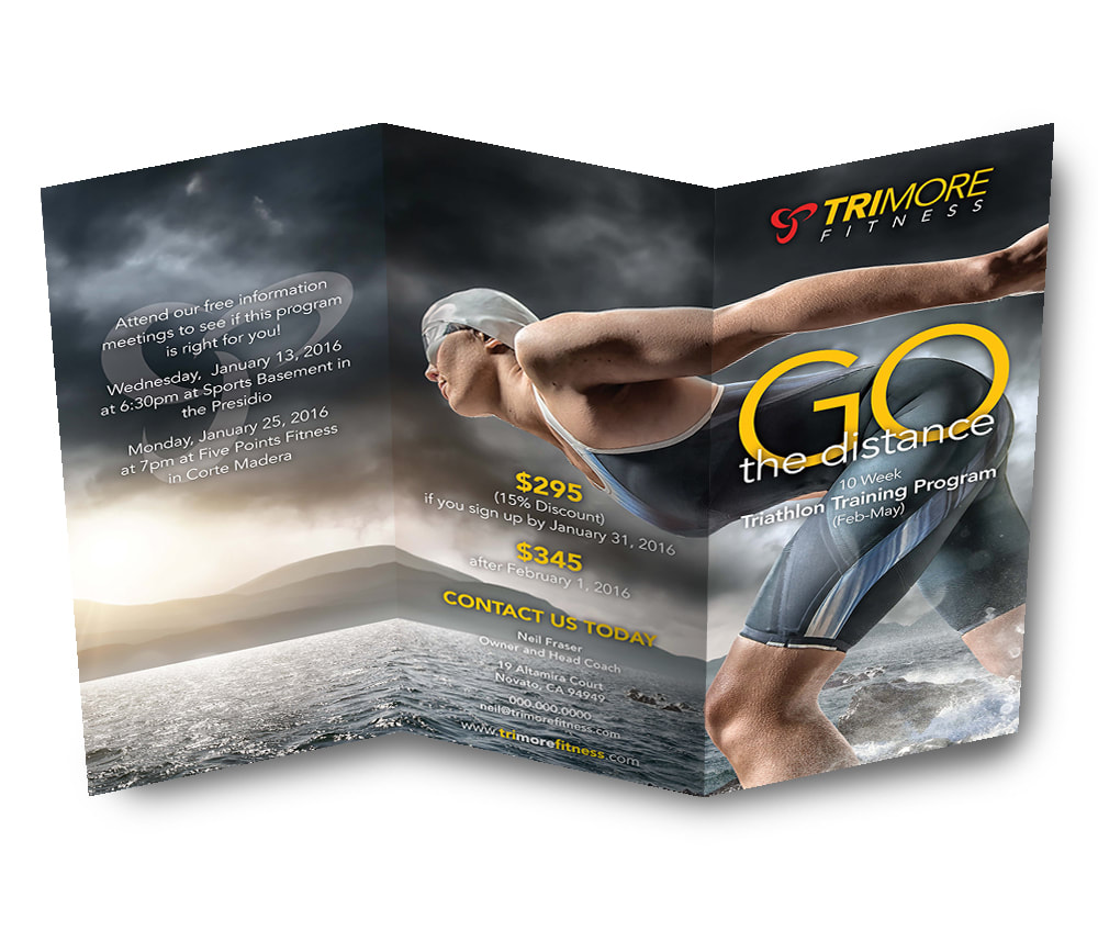 Trimore Fitness Trifold Brochure