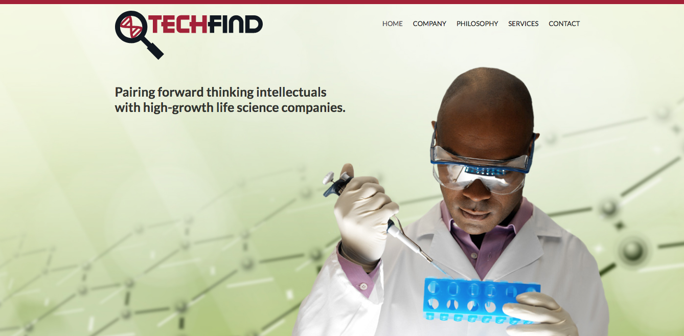TechFind Website Design